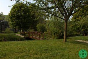 Le parc des trois moulins à Lyons